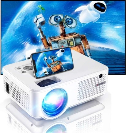 Bomaker 2021 Upgraded HD Video Projector